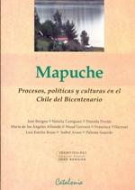 Cubierta de color rosado pálido, en la mitad superior se encuentra una fotografía en color, en ella se ve un paisaje del sur de Chile, lleno de humedad y vegetación. En la mitad de la cubierta se lee en grandes letras negras, el título de la obra y más abajo los nombres de los autores.