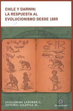 En la parte superior de la cubierta se encuentra el título en letras de color naranjo oscuro y fondo color blanco. Al centro de la cubierta se aprecia un libro abierto con hojas color café, en él hay variados dibujos de diferentes tipos de especies animales y humanas.