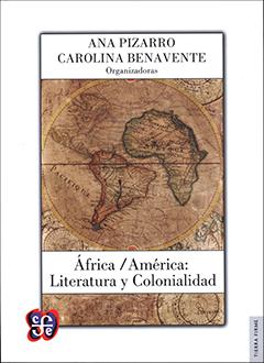 La cubierta muestra un recuadro grande al centro donde se aprecia un mapa en el que se destaca América del Sur y África. En la parte superior del recuadro se encuentra el nombre de las organizadoras y en la parte inferior el título, en letras de color negro. El fondo de la cubierta es de color blanco.
