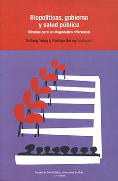 En la parte superior de la cubierta, sobre un fondo rojo, se encuentra el título en letras de color blanco y el nombre de los editores en letras de color negro. El resto de la cubierta es de color morado y aparece una ilustración en colores rojo, blanco y negro.
