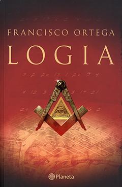 Cubierta de color rojo, en la parte superior se encuentra el nombre del autor y el título en letras de color amarillo. Al centro se aprecia una ilustración que representa el símbolo masón la escuadra y el compás y, dentro de éste, otro símbolo masón: la pirámide con un ojo.