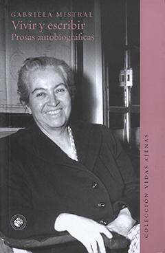 Cubierta ilustrada por la fotografía en blanco y negro de Gabriela Mistral, en Génova, Italia, año 1951. En la parte superior izquierda, se encuentra el nombre de la autora en letras medianas de color rosado, y, más abajo, aparece el título en letras grande y medianas de color rosado.