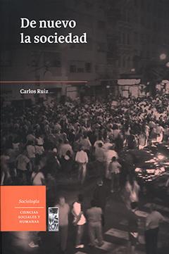Cubierta ilustrada por una fotografía en tonos sepia, en que se ve una multitud de personas en una ciudad. En la parte superior izquierda se encuentra el título en letras grandes de color blanco. Más abajo aparece el nombre del autor en letras pequeñas de color blanco.