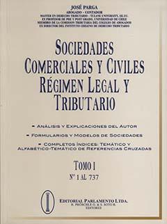 Sociedades comerciales y civiles : régimen legal y tributario