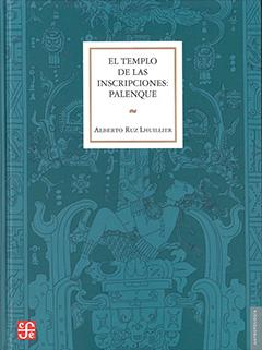 Cubierta en tonos azules, ilustrada por el dibujo de la lápida del sarcófago del rey de Palenque, encontrado en la cripta secreta del Templo de las Inscripciones. En la parte superior central, dentro de un recuadro blanco, se encuentra el título en letras grandes de color negro, y, más abajo, aparece el nombre del autor en letras medianas de color negro.