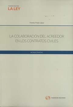 La colaboración del acreedor en los contratos civiles