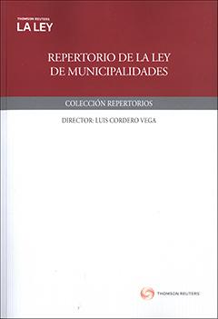 Repertorio : Ley de municipalidades