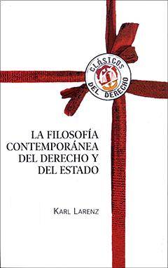 filosofia contemporanea del derecho y del estado