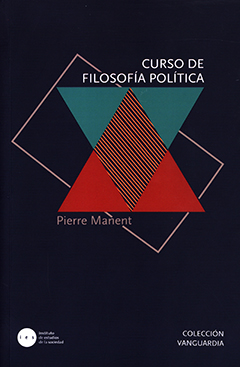 Cubierta de color azul oscuro, ilutrada por dos triángulos de color verde claro y dos de color rojo. En la parte superior se encuentra el título en letras grandes de color blanco. Más abajo aparece el nombre del autor en letras medianas de color gris claro.