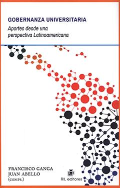 Cubierta de color blanco, ilustrada por una imagen de América Latina hecha con puntos interconectados de diferentes tamaños y colores. En la parte superior se encuentra el título en letras grandes de color azul y en letras medianas de color negro. En la parte inferior izquierda aparecen los nombres de los compiladores en letras medianas de color negro.