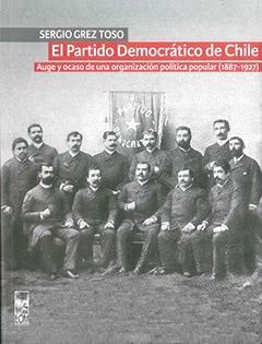 Cubierta ilustrada por una fotografía en blanco y negro de los fundadores del Partido Democrático, fechada el 20 de noviembre de 1887. En la parte superior, en una franja de color gris, se encuentra el nombre del autor en letras medianas de color blanco. Más abajo, en una franja de color rojo, aparece el título en letras grandes y pequeñas de color blanco.