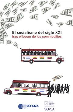 Cubierta de color blanco, ilustrada por varios billetes de dólar y por dos microbuses, uno lleno y otro vacío, con las banderas de Argentina, Ecuador, Bolivia y Venezuela en sus costados. En la parte superior se encuentra el título en letras medianas de colores negro y rojo.
