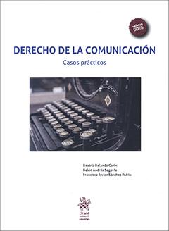 Cubierta de color blanco, en el centro se ve la fotografía de las teclas de una máquina de escribir. En la parte superior se encuentra el título en letras grandes y medianas de color azul. En la parte inferior derecha aparecen los nombres de los autores en letras pequeñas de color negro.