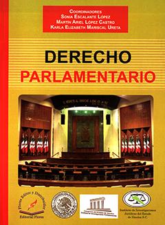 Cubierta de color mostaza, ilustrada con fotografía a color de una Institución de gobierno de México. Título sobre la fotografía en letras grandes de color negro y rojo. Nombre de los coordinadores en letras de color blanco dentro de un recuadro superior de color rojo.