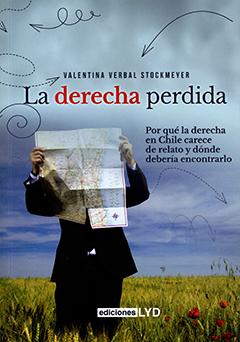 Cubierta ilustrada con la imagen de un hombre viendo un plano de Chile que le tapa el rostro. Se encuentra de pie en un campo de trigo verde y amarillo con el cielo azul a su espalda. Título en parte superior en letras de colores negro y rojo. Nombre de la autora sobre el título en letras color negro.