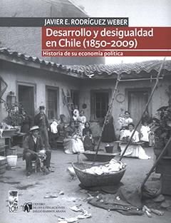 Cubierta con fotografía en blanco y negro de un conventillo en Valparaíso, hacia el año 1900. En la parte superior, en una franja de color gris, se encuentra el nombre del autor en letras medianas de color blanco. Más abajo en dos franjas de color rojo aparece el título en letras grandes y pequeñas de color blanco.
