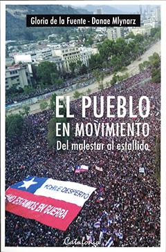 En la cubierta se ve la imagen de la marcha más grande que ha existido en Chile, durante el estallido social de octubre del 2019. El título de la obra se ve en el centro con letras blancas, mientras que el nombre del autor lo apreciamos en la parte superior con letras negras.