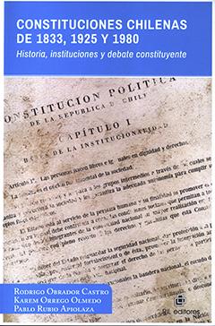 En la cubierta se aprecia la imagen del capítulo 1 de la Constitución. En la parte superior, en un rectángulo de color celeste, se encuentra el título de la obra con letras blancas. En la parte inferior, en un rectángulo de color celeste, se encuentran los nombres de los autores con letras de color blanco.