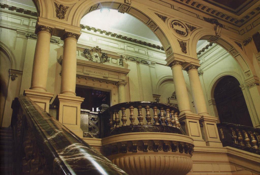 Escalera De M Rmol Del Ex Congreso Nacional De Chile